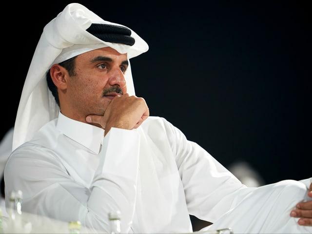 Tamim bin Hamad, der Emir von Katar