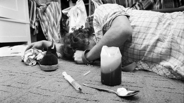 Drogensüchtiger 1979