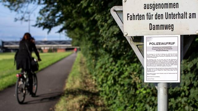 Der Täter im Vergewaltigungsfall in Emmen ist nach wie vor nicht gefasst.