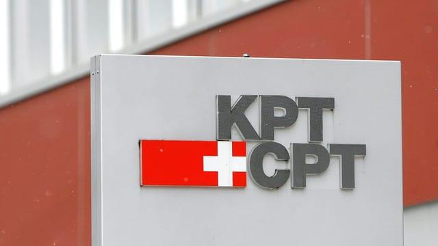 Das Bild zeigt das Logo der Versicherung KPT mit Sitz in Bern.