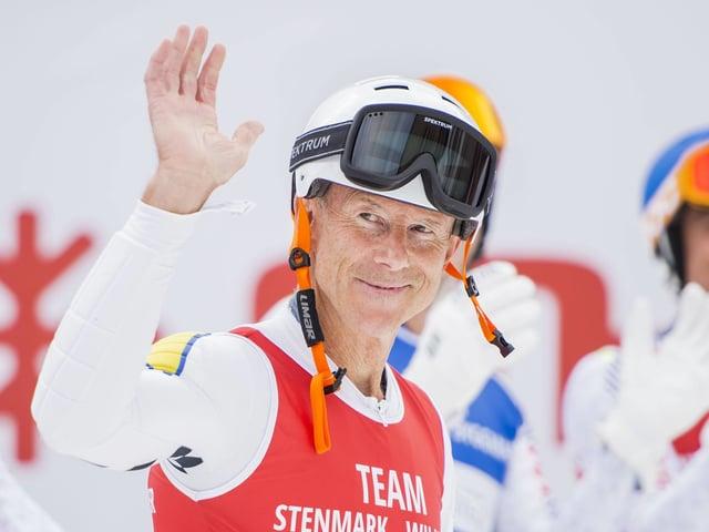 Ingemark Stenmark ist noch immer der Athlet mit den mit Abstand meisten Weltcup-Siegen.