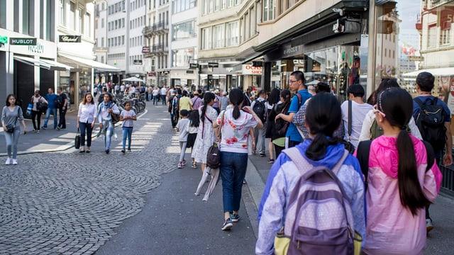 Der Grendel in der Stadt Luzern