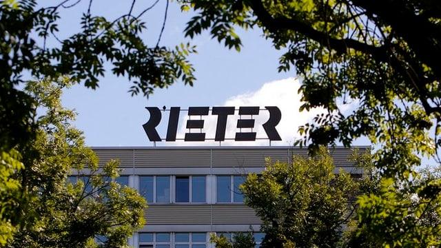 Der Rieter-Hautpsitz in Winterthur.