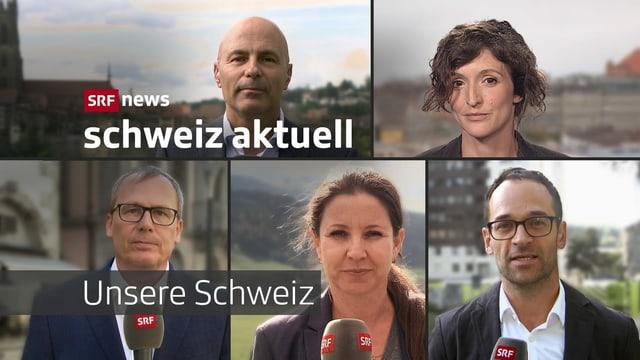 Unsere Schweiz, Schwerpunktwoche Schweiz aktuell