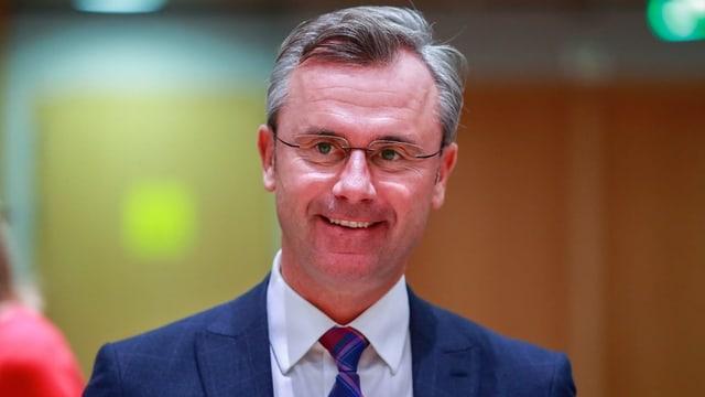 Der österreichische Verkehrsminister Norbert Hofer