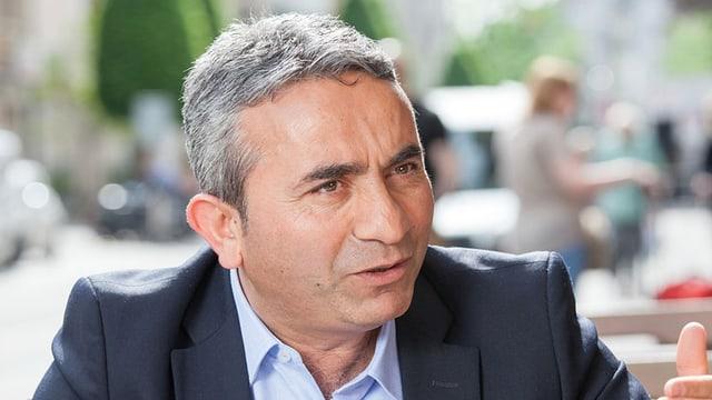 Porträt Mustafa Atici.