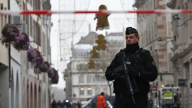 Mutmasslicher Attentäter von Strassburg erschossen (Artikel enthält Video)