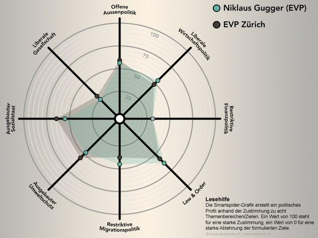Die Smartspider von Nik Gugger.