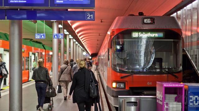 RBS Zug in Bern.