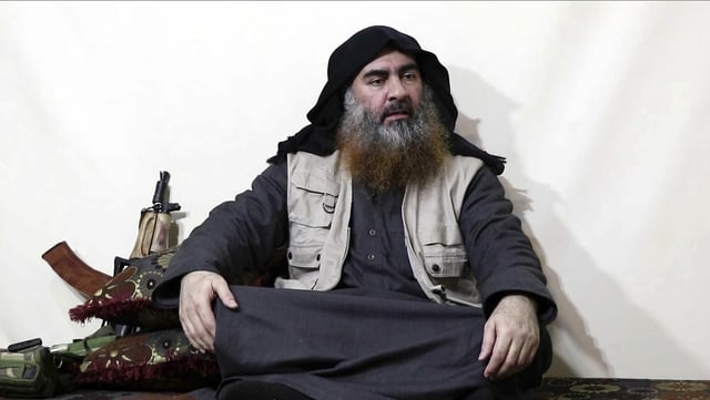 Im April dieses Jahres zeigte sich der IS-Terrorführer bei einem Interview mit dem IS-Terrorkanal Ak-Furgan