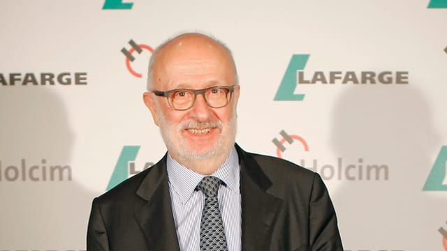 Holcim-Präsident Rolf Soiron.