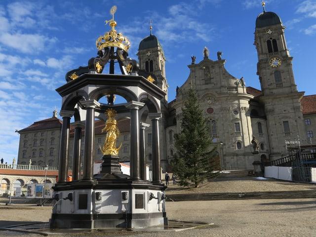 Blick auf Klosterplatz