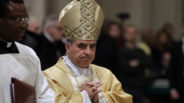 Cardinal Angelo Becciu.