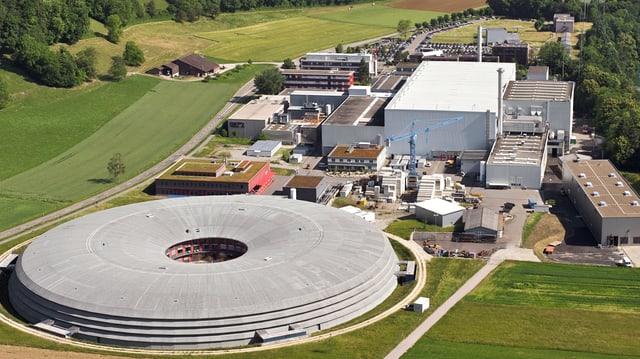 PSI in Villigen (Luftaufnahme)