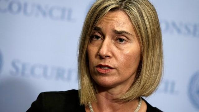 EU-Aussenbeauftragte Federica Mogherini