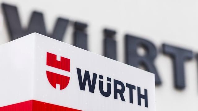 Il logo da Würth.