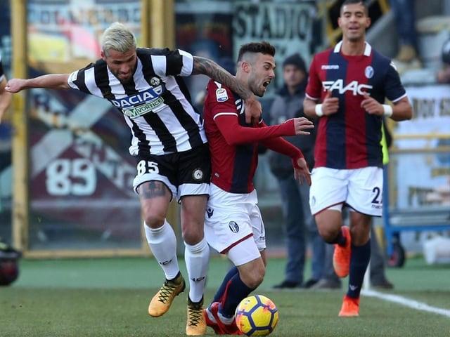 Valon Behrami mit Udinese.