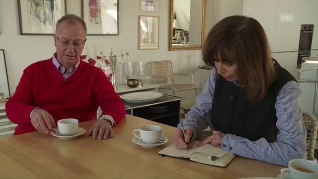 Video «Die Reporterin - Margrit Sprecher wird 80» abspielen