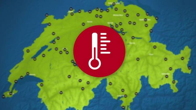 Badetemperaturen in Seen und Flüssen