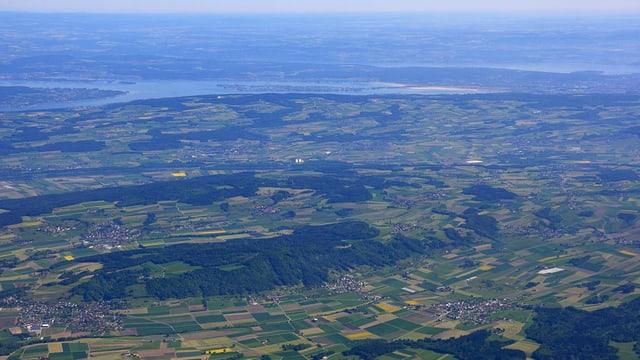 Der Thurgau von oben.