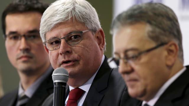 Ein Foto von Rodrigo Janot, dem Generalstaatsanwalt Brasiliens