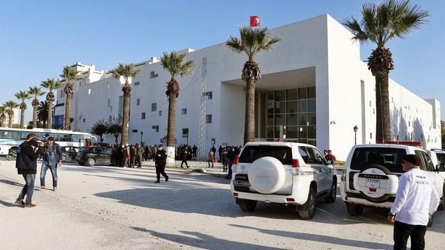 Bardo-Museum in Tunis nach dem Anschlag vom Mittwoch