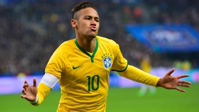 Neymar bei einem Torjubel.