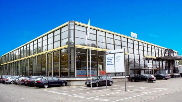 Der Hauptsitz der Lüscher AG in Gretzenbach