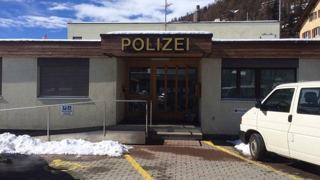 Post da polizia a San Murezzan