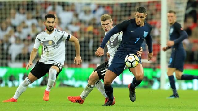 Deutschland und England schenkten sich beim 0:0 im Wembley nichts.