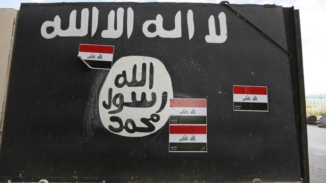Eine IS-Fahne.
