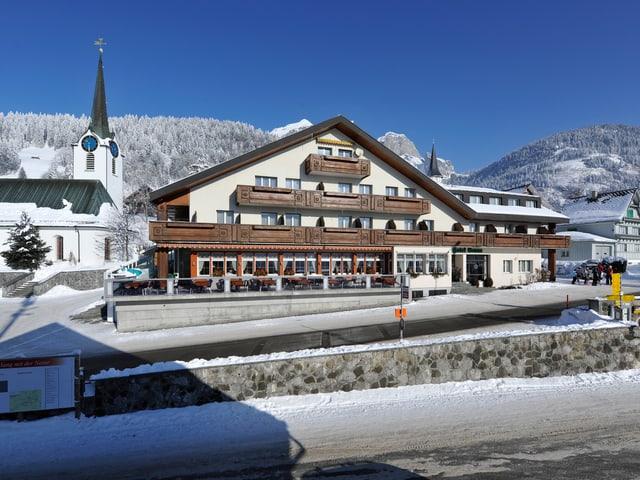 Beutler Hotel Sonne in Wildhaus