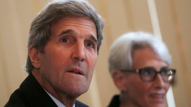 Der amerikanische Aussenminister John Kerry.