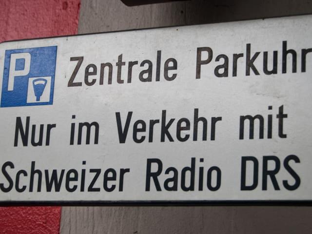 Im Verkehr mit Schweizer Radio DRS.