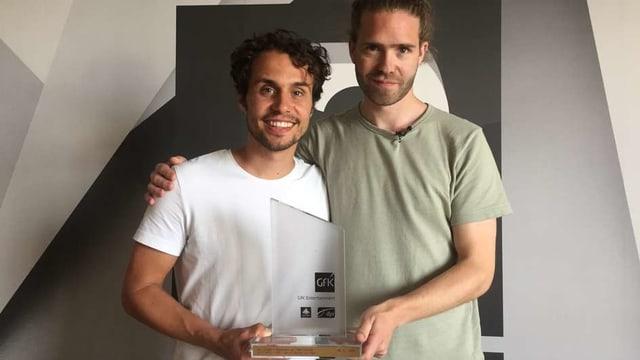 Lo & Leduc mit dem Hitparaden-Spezial-Award