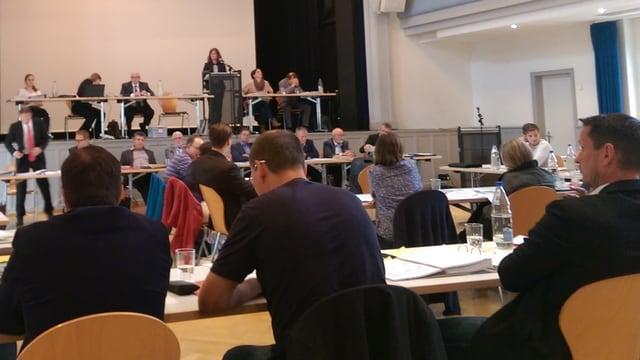 Sitzung in Wohlen.