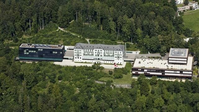 Sportzentrum Magglingen aus der Luft