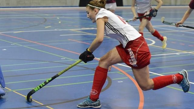 Die Landhockey-Frauen von Rotweiss Wettingen zeigen auch auf europäischer Ebene gute Leistungen.