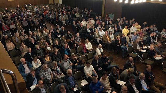 Teilnehmende des Bevölkerungsgesprächs in Rorschach