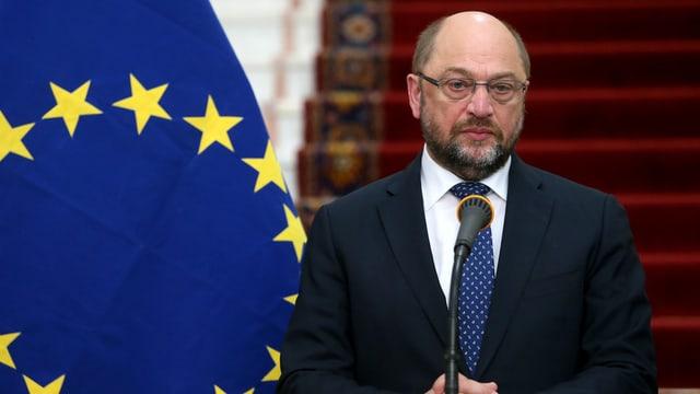 Martin Schulz, il president dal parlament da l'UE.