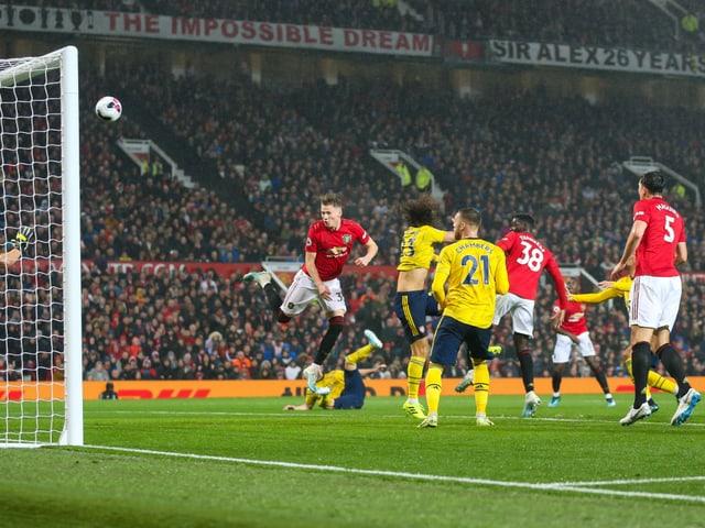 Das letzte Kräftemessen im Old Trafford zwischen ManUnited und Arsenal endete 1:1.