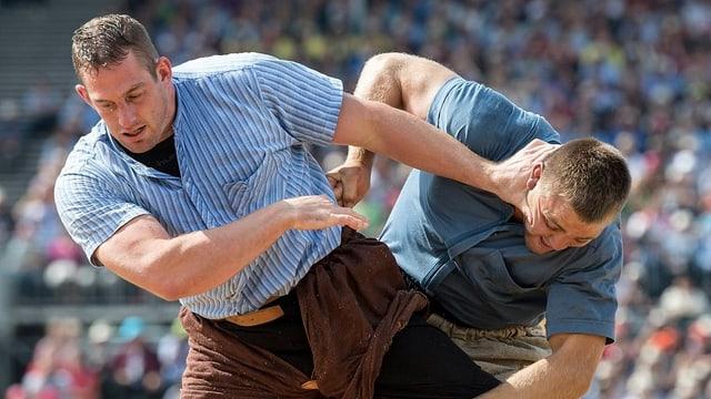 Philipp Laimbacher gegen Willy Graber.