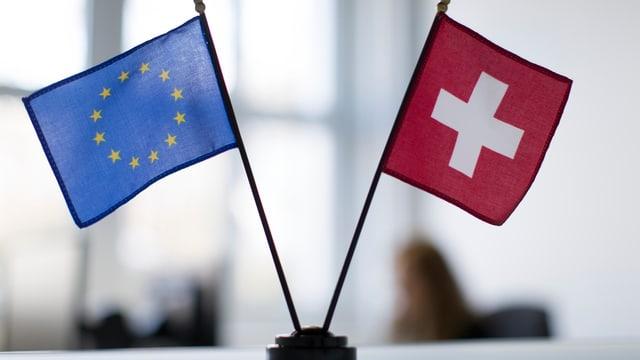 L'UE e la Svizra èn sa cunvegnidas en chaussa barat d'infurmaziun automatic.