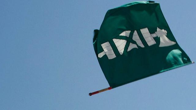 Die Fahne als Sybmol im Kantonsrat