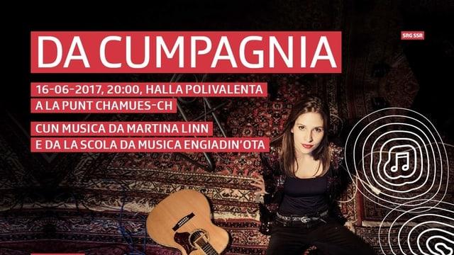 Il «Da Cumpagnia» cun Martina Linn.