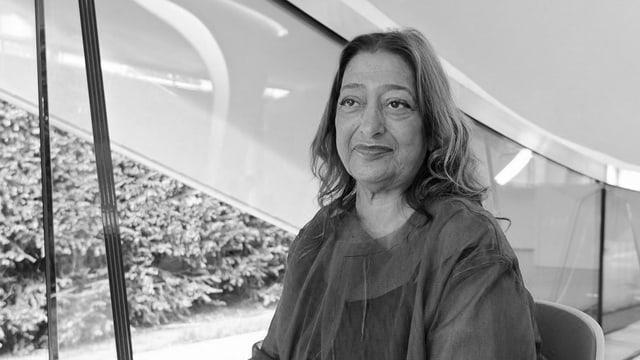 L'architecta Zaha Hadid.