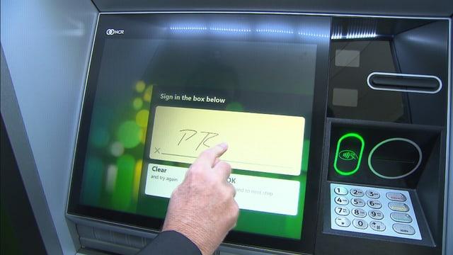 Der Bankomat der Zukunft