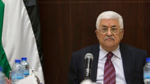Il president palestinais Mahmud Abbas.