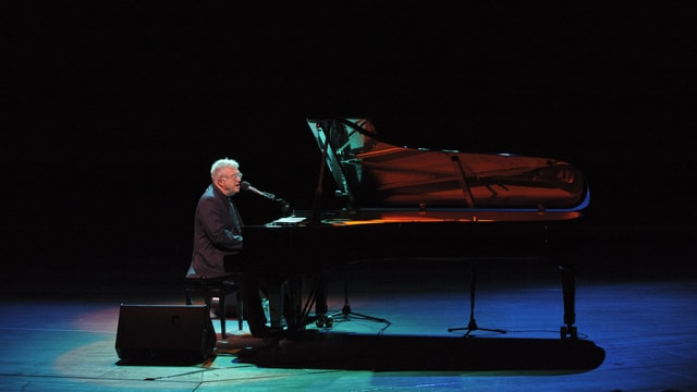 Randy Newman am Klavier