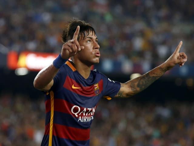 Neymars Torjubel